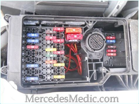 fuses on mercedes e class w210 are located in several locations we auto e55 amg
