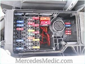 1999 Mercedes E320 Rear Fuses Diagram 24834 Getacd Es