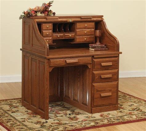 42 quot traditional roll top desk from dutchcrafters amish
