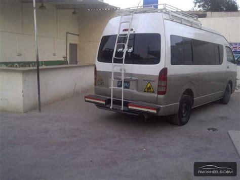toyota hiace grand cabin 2007 for sale in karachi pakwheels