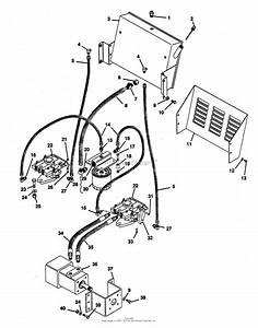 Gravely 53040 Pro 300  20hp Kohler Parts Diagram For