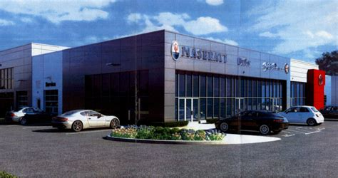 New Butler Maserati Fiat Alfa Romeo Dealership Receives