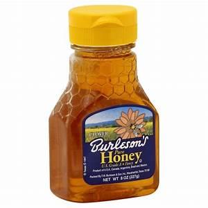 Burlesons Pure Clover Honey (8 oz) from H-E-B - Instacart