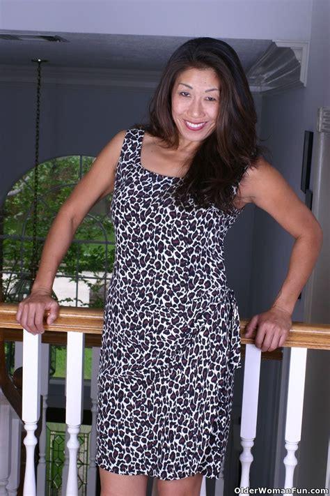 Asian Grandmother Tomoko Goes Without Panties Today