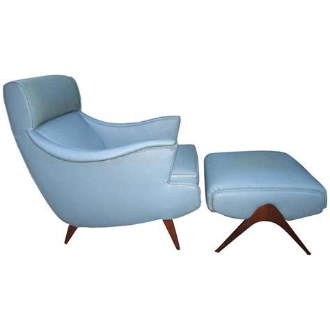 modern chair and ottoman exciting mid century modern kagan inspired lounge chair