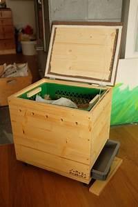 Wurmkomposter Selbst Bauen : wurmkiste aus holz mit hocker als selbstbau mit anleitung ~ Eleganceandgraceweddings.com Haus und Dekorationen