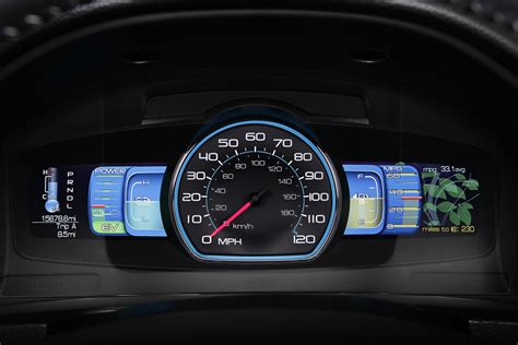Ford Fusion Hybrid Smart Gauge With Ecoguide Intriguing