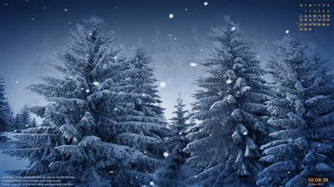 Winter Snow Animated Wallpaper - animated snow falling wallpaper wallpapersafari