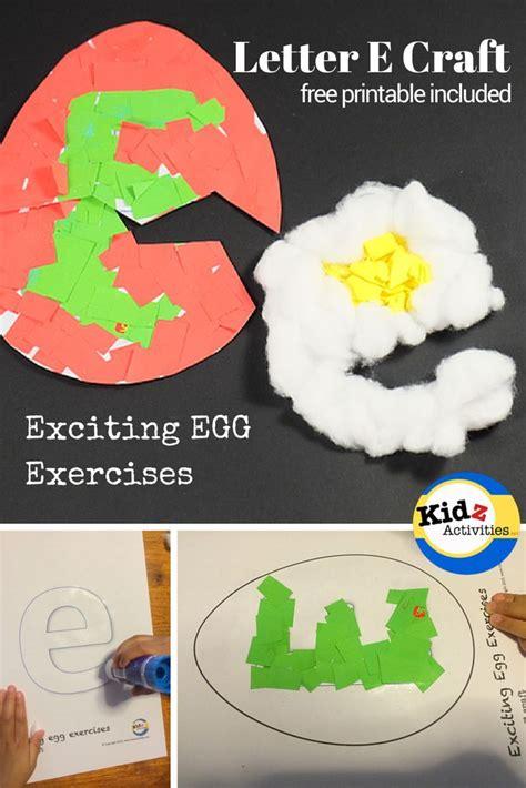 letter e craft for preschool exciting egg exercises 408   65bad9c709f0d00352c8017ea008fd76