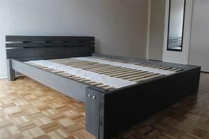Comment Faire Un Lit En Palette : comment fabriquer un lit ep08 ~ Nature-et-papiers.com Idées de Décoration
