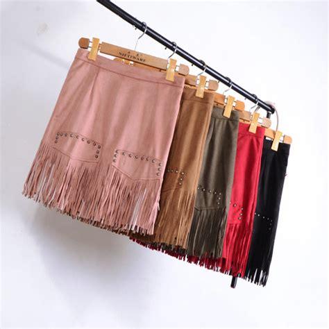 jupe bureau commentaires fringe leather skirt faire des achats en
