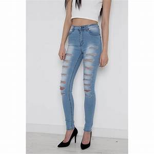 High Waisted Super Skinny Jeans | Bbg Clothing