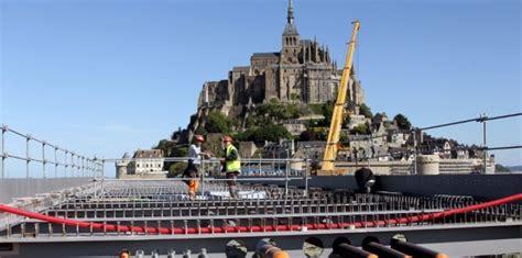 construction du mont michel mont michel le co 251 t du tour de d 233 nonc 233 10 juillet 2013 l obs