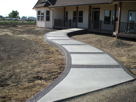 home walkways new home walkway buchheit construction