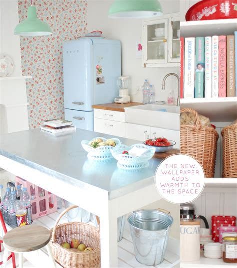 A Pastel Coloured Kitchen  Bright Bazaar By Will Taylor