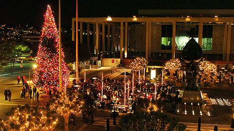 holiday events at the music center in los angeles