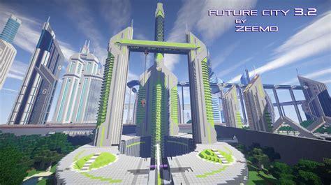 minecraft map ville future city   future