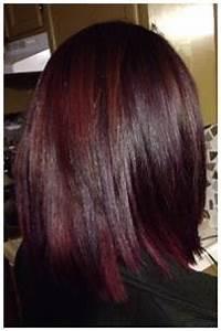 Pravana Hair Color Magenta And Purple Shadowing Hair By