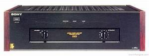 Sony Ta-n55es - Manual - Stereo Power Amplifier