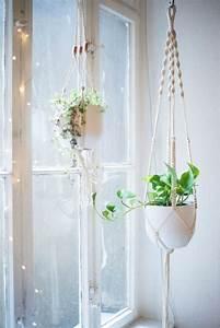 Makramee Garn Für Blumenampel : blumenampel selber machen makramee wohn design ~ Frokenaadalensverden.com Haus und Dekorationen