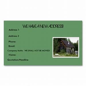 quotchange of addressquot business cards moving pinterest With change of address business cards