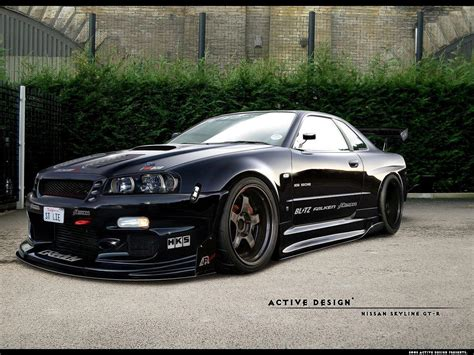nissan skyline nissan skyline gtr r34 wallpapers wallpaper cave