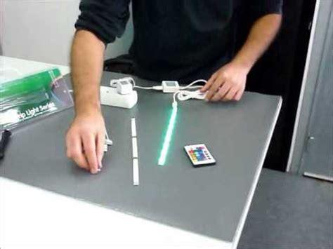 kit led pour escalier comment installer un kit de barettes led 169 2012 euroshopled