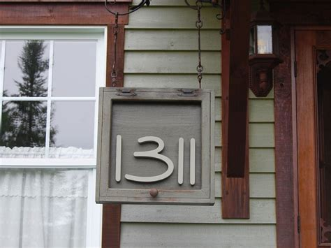 painted home address numbers custom wood house numbers craftcutscom
