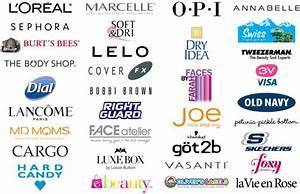 Cosmetics Skincare And Makeup Brand Logos - Makeup Vidalondon