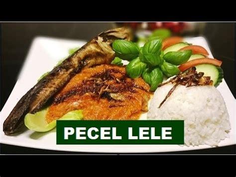 resep pecel lele fried catfish recipe youtube