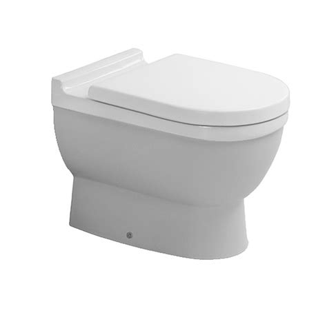 duravit starck 3 floor standing toilet with seat and cover 560mm