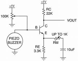 piezoelectric amplifier circuit hacked gadgets diy With circuit piezo electric buzzer explained electronic circuit