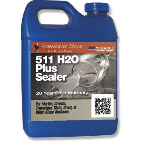 miracle sealants 32 oz 511 h20 water base sealer h2o pl
