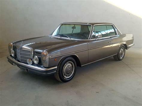 Ülkemizde hala güzel örnekleri bulunabilmesine rağmen fiyatları sedan modellere göre oldukça üstte konumlandırılmış. Mercedes-Benz W114/8 Coupe LHD (Baujahr 1968-1976) - DGS Autoteppiche GmbH