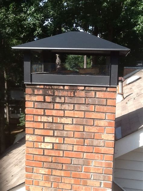 fireplace chimney cap chimney caps and pans mad hatter services