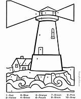 Lighthouse Coloring Pages Print sketch template