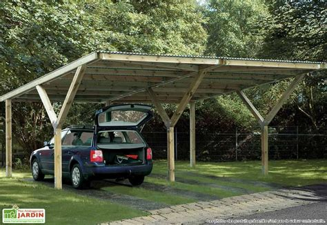 "Carport ""y"" Double (6x6)  Abrigarage ""y"" Double Weka"