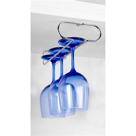 wine glass holder cabinet spectrum under the cabinet wine glass holder set bar