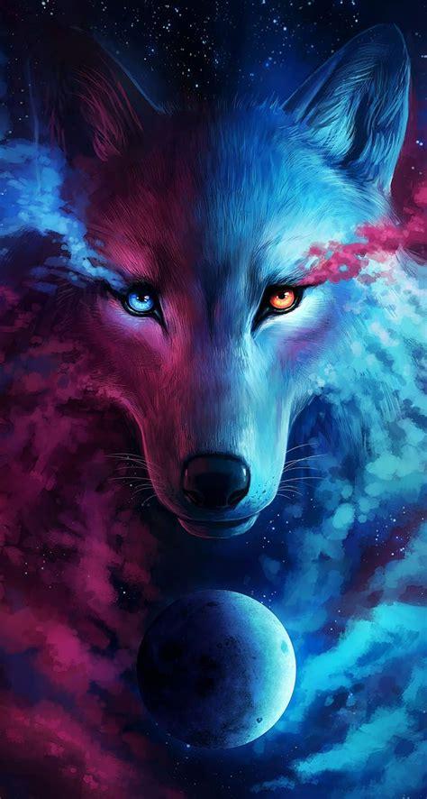 Galaxy Wolf Wallpaper galaxy wolf wallpapers wallpaper cave