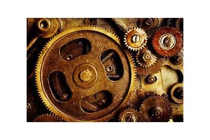 Gears Technology Metal Screw Spring Desktop Wallpapers