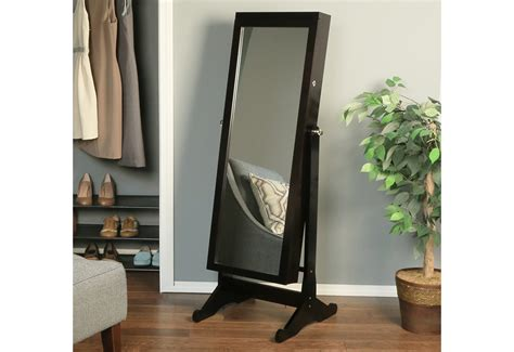 Jewelry Armoire With Full-length Mirror @ Sharper Image