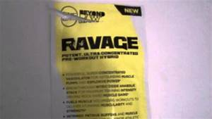 Gnc Ravage Pre Workout Supplement Review
