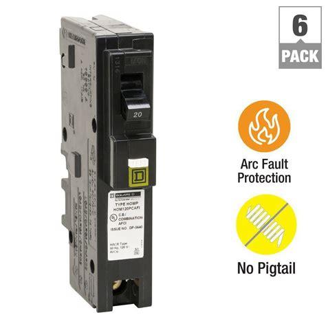Square Homeline Amp Single Pole Plug Neutral