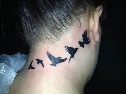 Bird Tattoos Birds Tattoo Neck Flying Designs