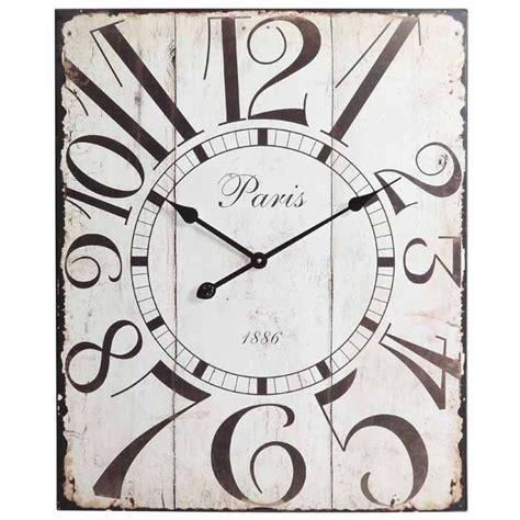 large rectangular wall clock rectangular oversized wall clock home sweet home pinterest
