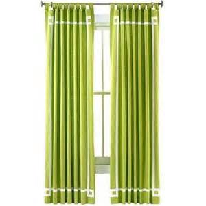 happy chic by jonathan adler canvas curtain panel i