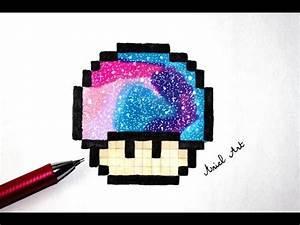 Pixel Art Voiture Facile : pixel art facile comment dessiner le champignon de mario youtube ~ Maxctalentgroup.com Avis de Voitures