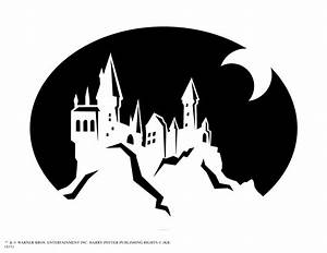 pumpkin carving harry potter castle harry potter With harry potter pumpkin carving templates