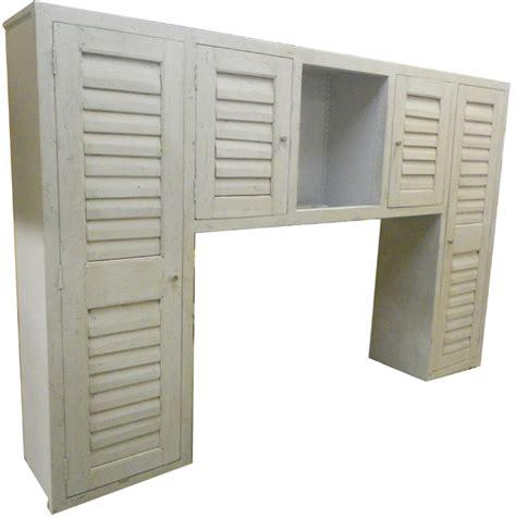 meuble cuisine persienne meuble avec portes persiennes anciennes en teck