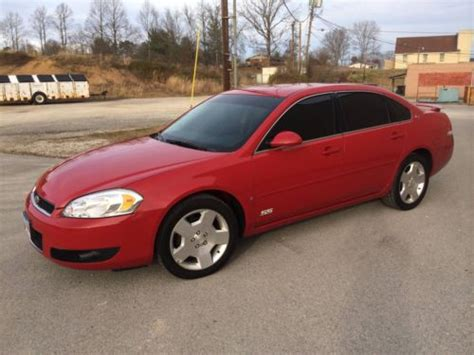 Find Used 2008 Chevrolet Impala Ss Sedan 4-door 5.3l V8 In